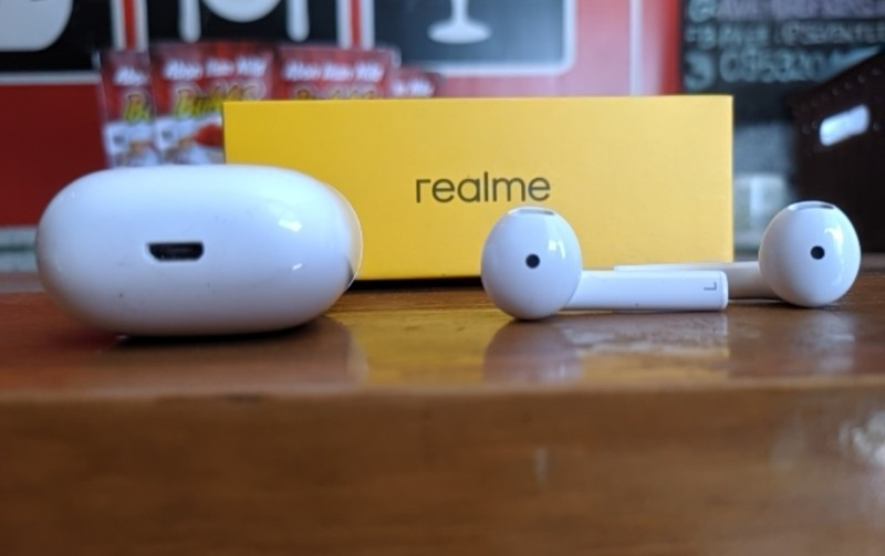 realme earbuds buds air neo box