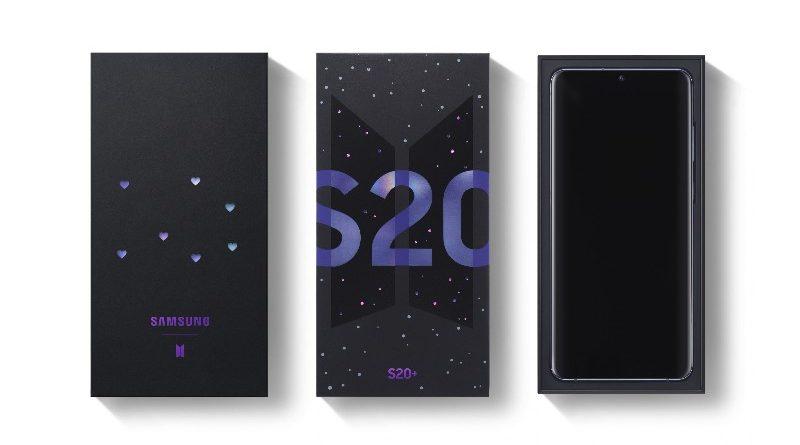 Pre Order Samsung Galaxy S20+ BTS Edition Indonesia Dibuka