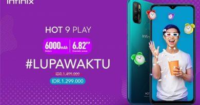 Infinix Hot 9 Play, HP Baterai 6000mAh Harga Sejutaan