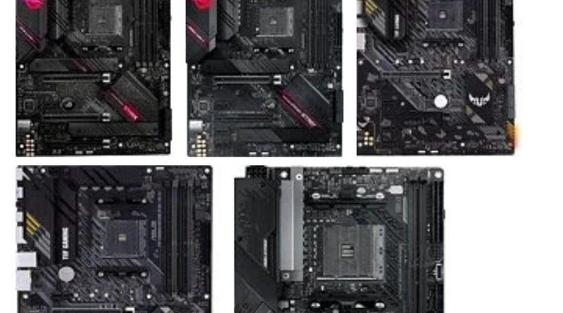 Pre Order ASUS AMD B550 Motherboard Telah Dibuka