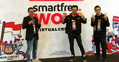 Smartfren WOW Concert 2020, Gelar Konser Virtual 3 Negara