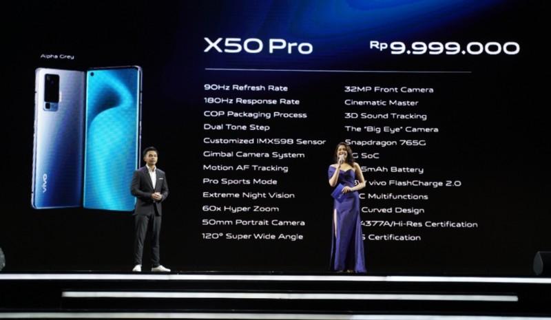 hp kamera vivo x50 pro