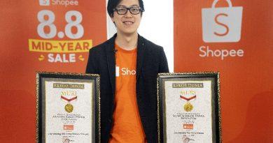 shopee 8.8 Mid Year Sale Pecahkan Rekor MURI
