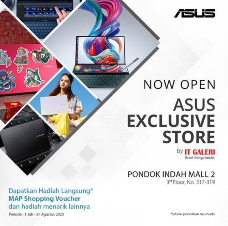 promo ASUS Exclusive Store