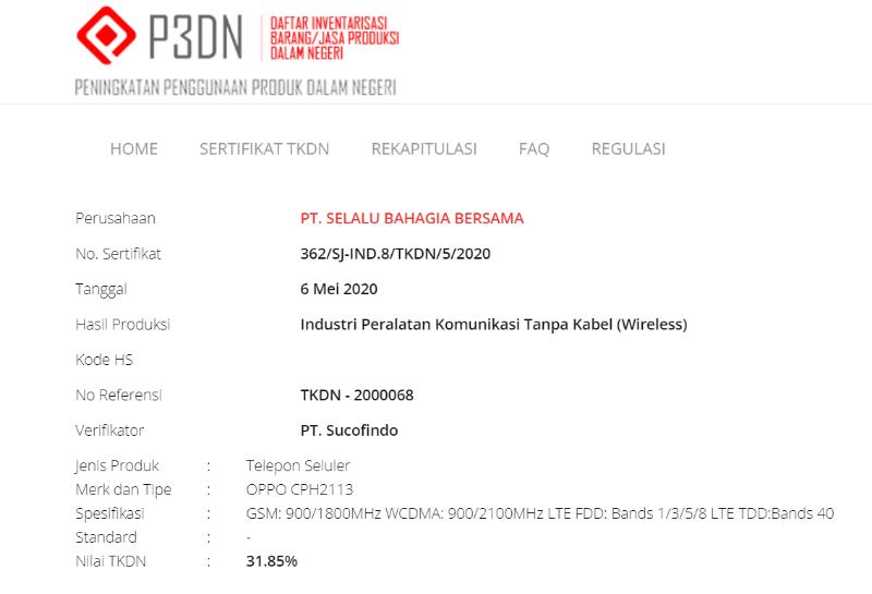 oppo reno4 indonesia