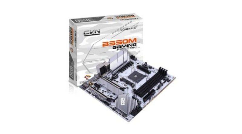 COLORFUL Rilis Motherboard Mid-Tier AMD B550 Berbasis PCI-Express 4.0