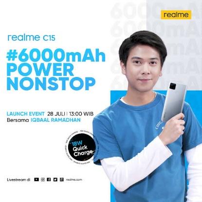 hp realme c15 6000mah