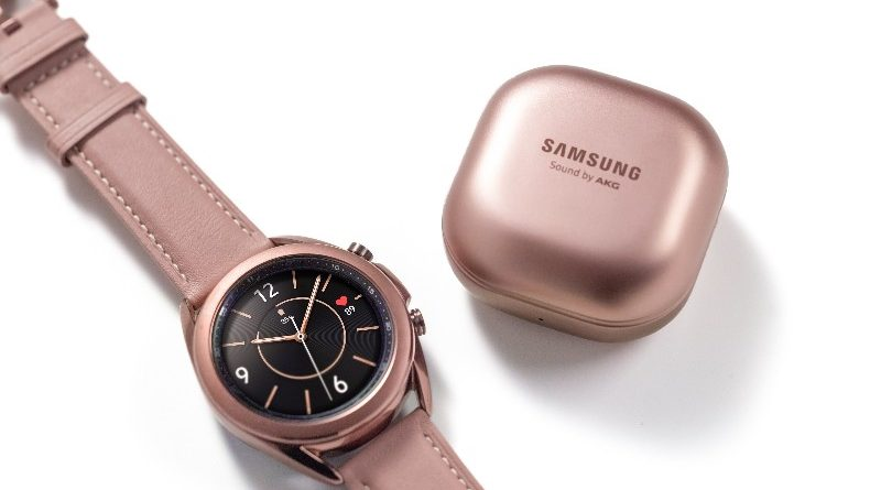 Samsung Rilis Galaxy Watch3 & Galaxy Buds Live