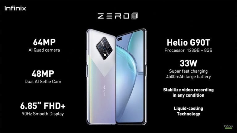 spesifikasi infinix zero 8