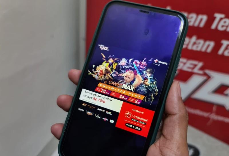 paket game telkomsel gamesmax unlimited play