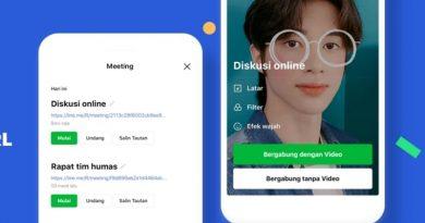 aplikasi line meeting