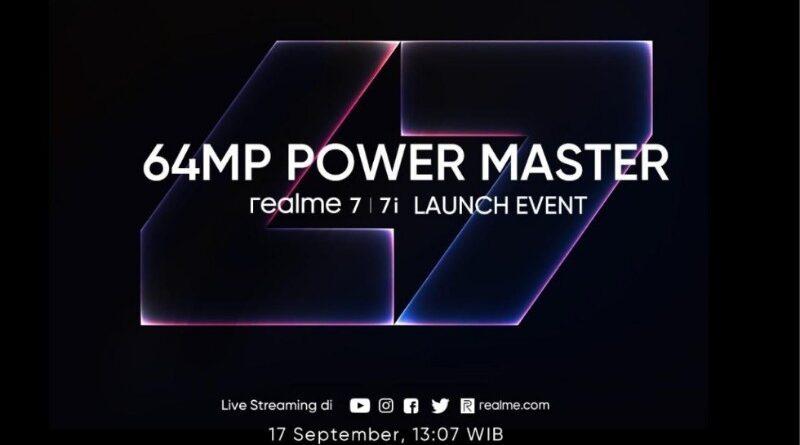 Realme 7 Series Segera Bawa Kamera 64MP ke Indonesia