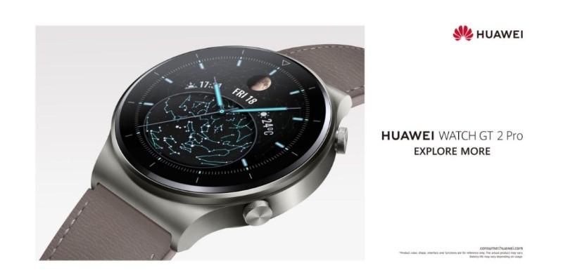 latest huawei watch gt