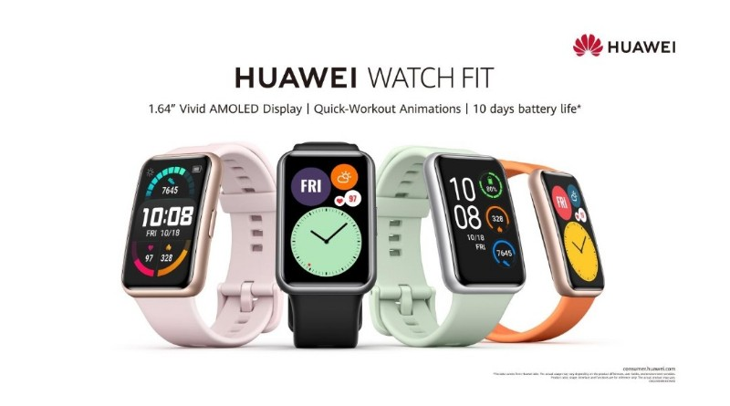 latest huawei watch fit