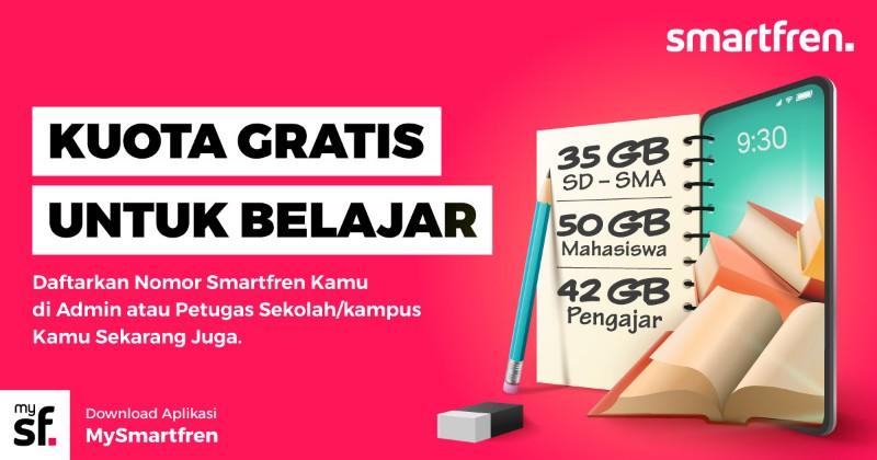 smartfren gratis kuota