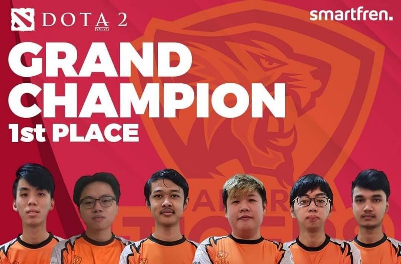 juara dota IES Smartfren Indonesia Championship 2020