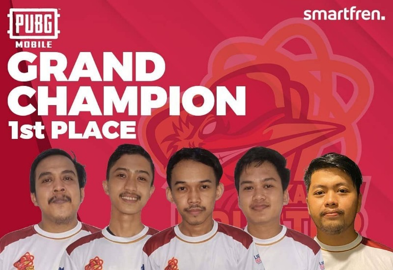 juara pubg IES Smartfren Indonesia Championship 2020