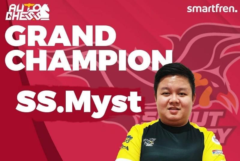 juara autochess IES Smartfren Indonesia Championship 2020