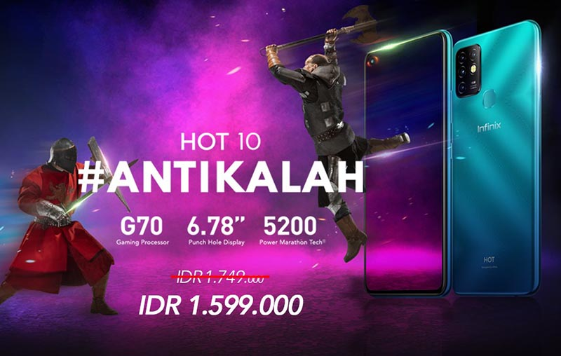 kelebihan hp infinix hot 10