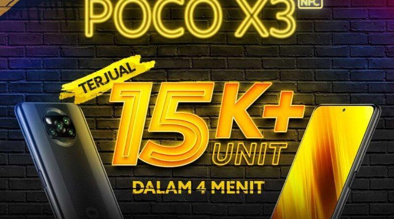 15 Ribu Unit POCO X3 NFC Terjual Habis Dalam 4 Menit