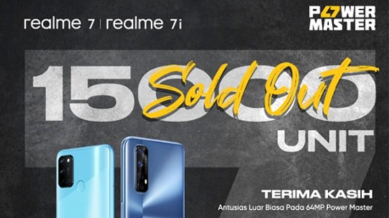 penjualan realme 7 smartphone