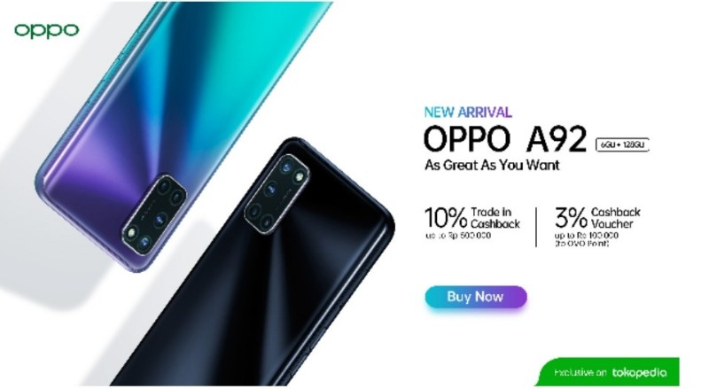 price of oppo a92 6gb
