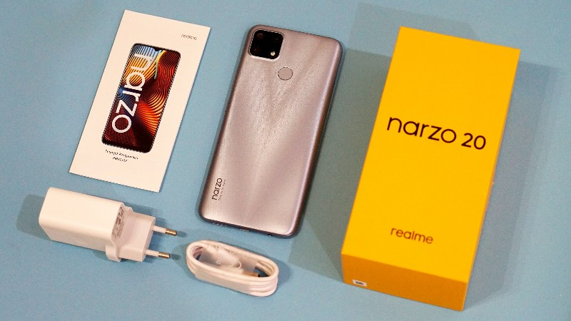 unboxing realme narzo 20