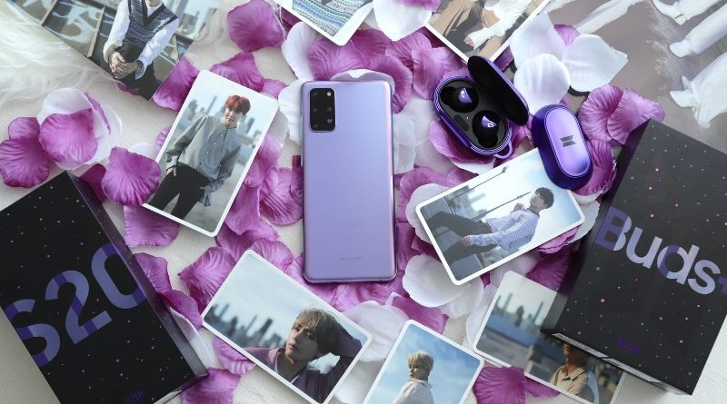 Samsung Galaxy S20+ Edisi Khusus BTS