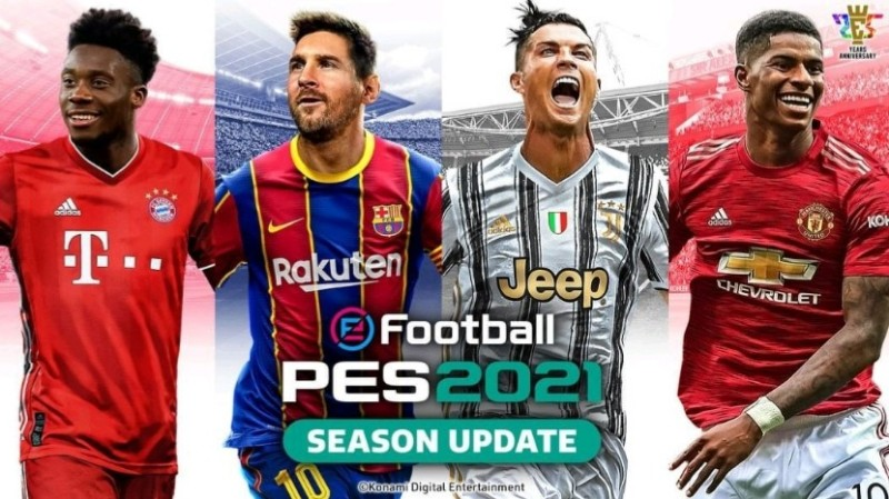 game android offline efootball pes 2021