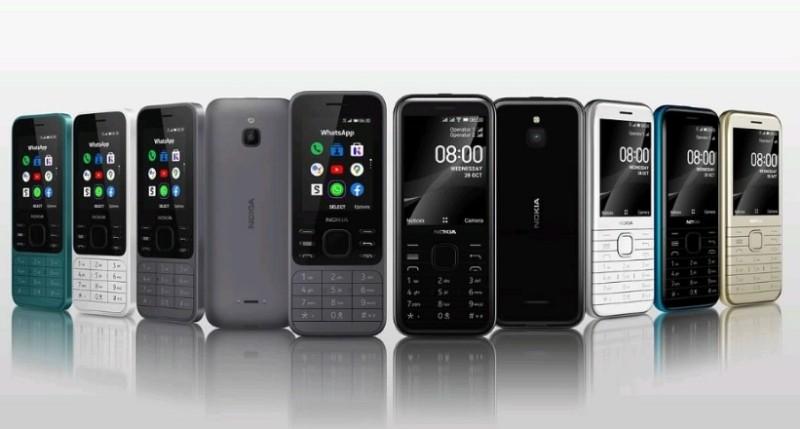 Harga Nokia 8000 4G & Nokia 6300 4G