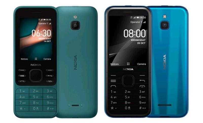 Spesifikasi Nokia 8000 4G & Nokia 6300 4G